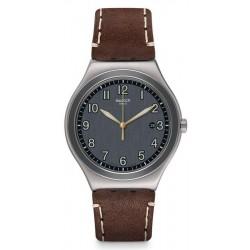 Buy Swatch Men's Watch Irony Big Classic Brandy YWS445
