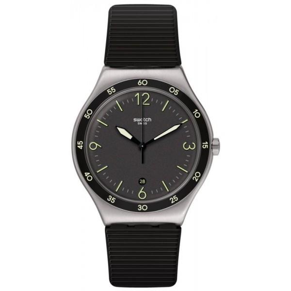 Buy Swatch Unisex Watch Irony Black Suit Big Classic YWS454