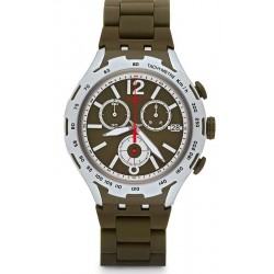 Buy Swatch Men's Watch Irony Xlite Green Attack YYS4022AG Chronograph