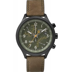 Buy Timex Men's Watch Intelligent Quartz Fly-Back Chronograph T2P381