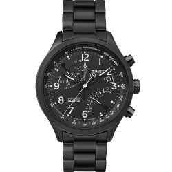 Buy Timex Men's Watch Intelligent Quartz Fly-Back Chronograph TW2P60800