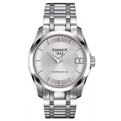 Buy Tissot Ladies Watch T-Classic Couturier Powermatic 80 T0352071103100