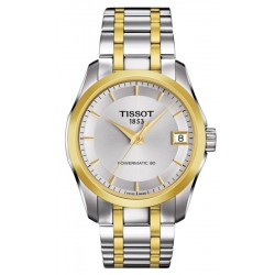 Buy Tissot Ladies Watch T-Classic Couturier Powermatic 80 T0352072203100