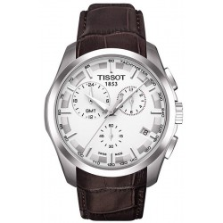 Tissot Men's Watch T-Classic Couturier GMT T0354391603100 Chronograph