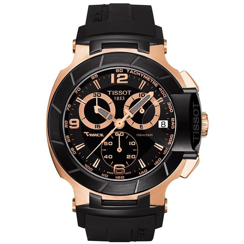 5bbd3438be0 Tissot Men s Watch T-Sport T-Race Chronograph T0484172705706 - New ...
