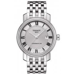 Buy Tissot Men's Watch Bridgeport Powermatic 80 T0974071103300