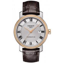 Buy Tissot Men's Watch Bridgeport Powermatic 80 T0974072603300