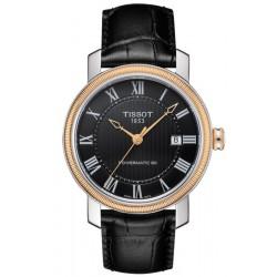 Buy Tissot Men's Watch Bridgeport Powermatic 80 T0974072605300