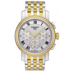 Tissot Men's Watch Bridgeport Automatic Chronograph Valjoux T0974272203300