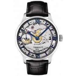 Buy Tissot Men's Watch Chemin des Tourelles Squelette Mechanical T0994051641800